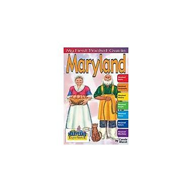 Gallopade International My First Pocket Guide About Maryland Social Studies Workbook, Grade 3 - Grade 8 [eBook]