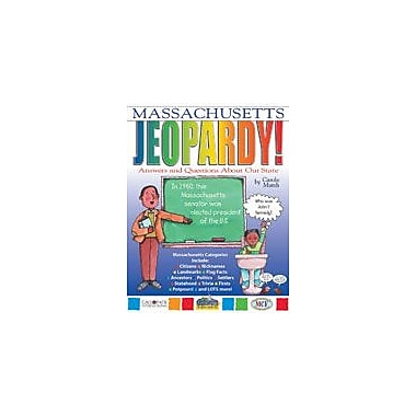 Gallopade International Massachusetts Jeopardy!: Answers & Questions About Our State! Workbook, Grade 3 - Grade 8 [eBook]