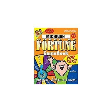 Gallopade International Michigan Wheel of Fortune! Geography Workbook, Grade 3 - Grade 8 [eBook]