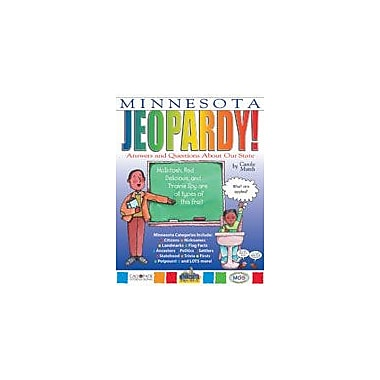 Gallopade International Minnesota Jeopardy!: Answers & Questions About Our State! Workbook, Grade 3 - Grade 8 [eBook]