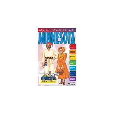 Gallopade International My First Pocket Guide About Minnesota Social Studies Workbook, Grade 3 - Grade 8 [eBook]