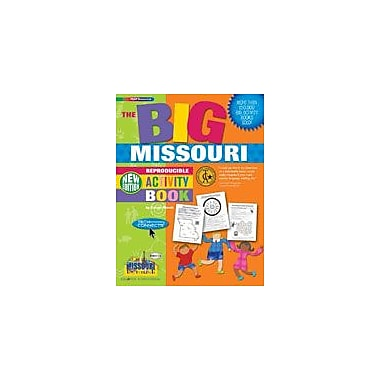 Gallopade International The Big Missouri Reproducible Activity Book-New Version Workbook, Grade 2 - Grade 6 [eBook]