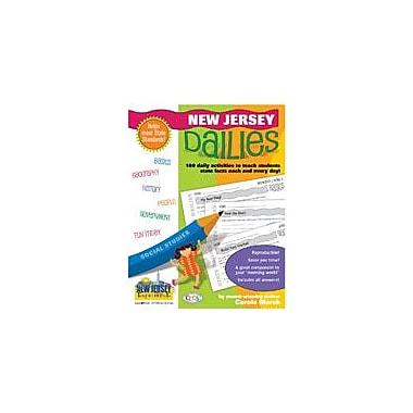 Gallopade International New Jersey Dailies: 180 Daily Activities For Kids Social Studies Workbook, Grade 1 - Grade 8 [eBook]