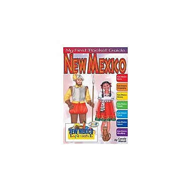 Gallopade International My First Pocket Guide About New Mexico Social Studies Workbook, Grade 3 - Grade 8 [eBook]