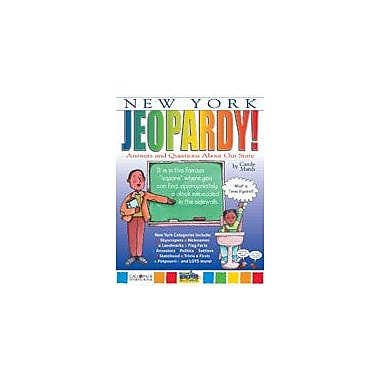 Gallopade International New York Jeopardy!: Answers & Questions About Our State! Geography Workbook, Grade 3 - Grade 8 [eBook]