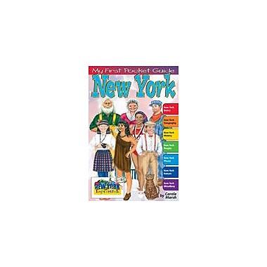 Gallopade International My First Pocket Guide About New York Geography Workbook, Grade 3 - Grade 8 [eBook]