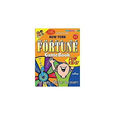Gallopade International New York Wheel of Fortune Gamebook Geography Workbook, Grade 3 - Grade 8 [eBook]