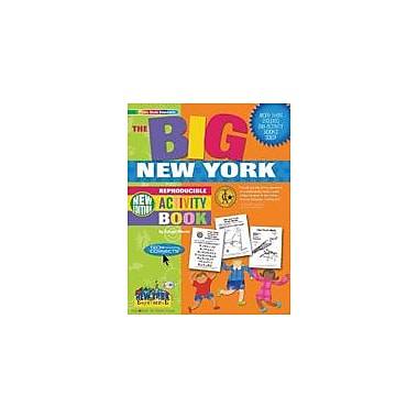 Gallopade International The Big New York Reproducible Activity Book-New Version Workbook, Grade 2 - Grade 6 [eBook]