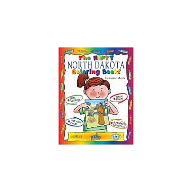 Gallopade International The Nifty North Dakota Coloring Book! Social Studies Workbook, Kindergarten - Grade 2 [eBook]