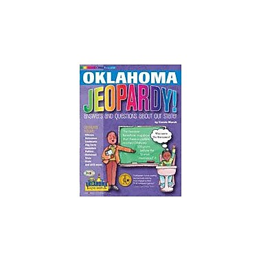 Gallopade International Oklahoma Jeopardy ! : Answers & Questions About Our State! Workbook, Grade 3 - Grade 8 [eBook]