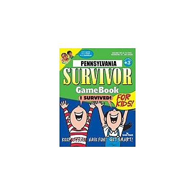 Gallopade International Pennsylvania Survivor: A Classroom Challenge! Geography Workbook, Grade 3 - Grade 8 [eBook]