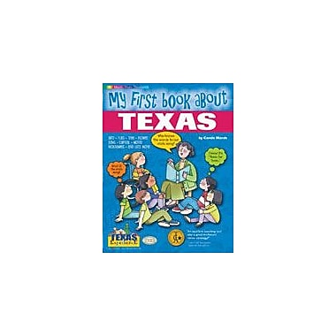Gallopade International My First Book About Texas! Social Studies Workbook, Kindergarten - Grade 4 [eBook]
