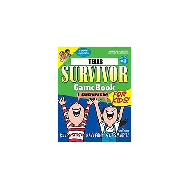 Gallopade International Texas Survivor: A Classroom Challenge! Geography Workbook, Grade 3 - Grade 8 [eBook]