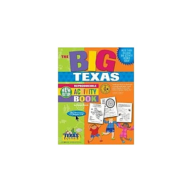Gallopade International The Big Texas Reproducible Activity Book-New Version Social Studies Workbook, Grade 2 - Grade 6 [eBook]