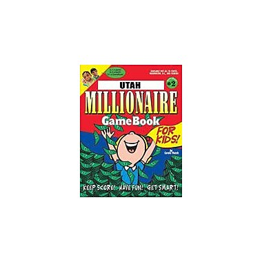 Gallopade International Utah Millionaire Geography Workbook, Grade 3 - Grade 8 [eBook]