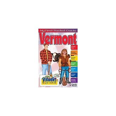 Gallopade International My First Pocket Guide About Vermont Social Studies Workbook, Grade 3 - Grade 8 [eBook]