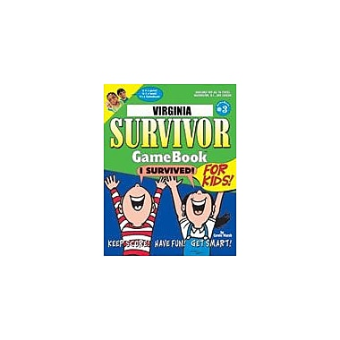 Gallopade International Virginia Survivor: A Classroom Challenge! Geography Workbook, Grade 3 - Grade 8 [eBook]