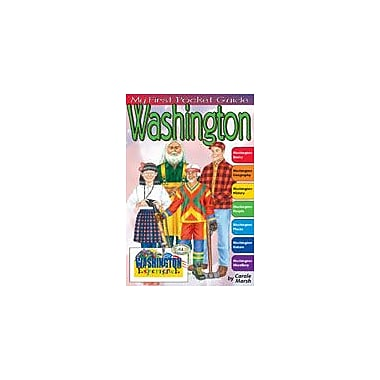 Gallopade International My First Pocket Guide About Washington Social Studies Workbook, Grade 3 - Grade 8 [eBook]