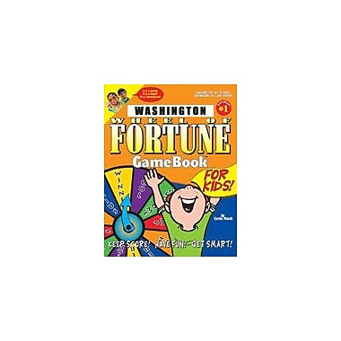 Gallopade International Washington Wheel of Fortune! Geography Workbook, Grade 3 - Grade 8 [eBook]