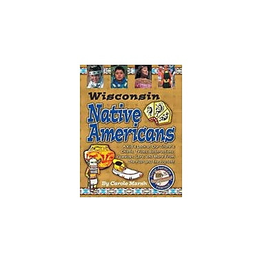 Gallopade International Wisconsin Native Americans Social Studies Workbook, Grade 3 - Grade 8 [eBook]