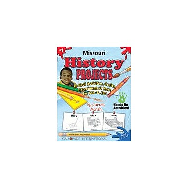 Gallopade International Missouri History Projects Social Studies Workbook, Kindergarten - Grade 5 [eBook]
