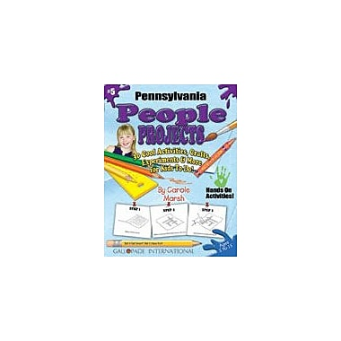 Gallopade International Pennsylvania People Projects Social Studies Workbook, Kindergarten - Grade 5 [eBook]