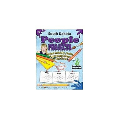 Gallopade International South Dakota People Projects Social Studies Workbook, Kindergarten - Grade 5 [eBook]