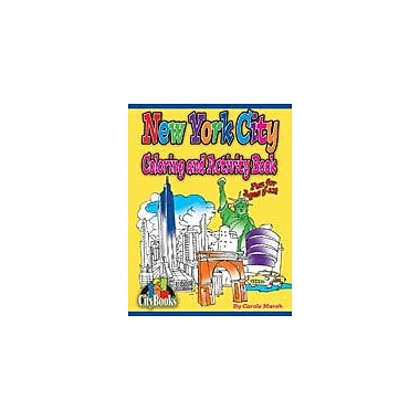 Gallopade International New York City Coloring and Activity Book Geography Workbook, Kindergarten - Grade 5 [eBook]