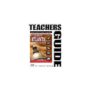 Gallopade International The Awesome Atlanta Mystery Teacher's Guide Reading & Writing Workbook, Grade 4 - Grade 6 [eBook]