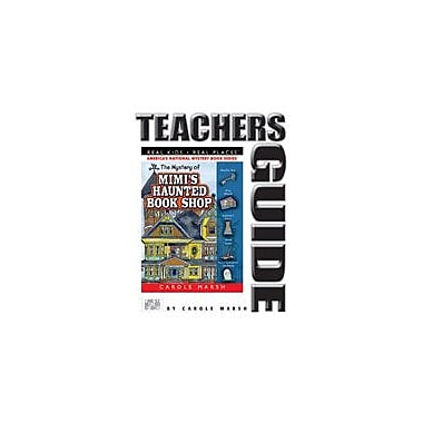 Gallopade International The Mystery of Mimi's Haunted Book Shop Teacher's Guide Workbook, Grade 4 - Grade 6 [eBook]