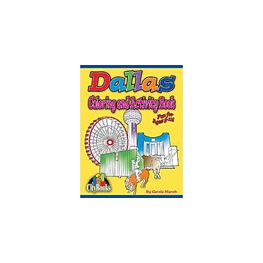 Gallopade International Dallas Coloring and Activity Book Reading & Writing Workbook, Kindergarten - Grade 5 [eBook]