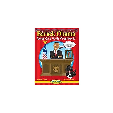 Gallopade International Barack Obama: America's 44th President (Second Edition) History Workbook, Grade 2 - Grade 8 [eBook]