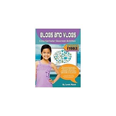 Gallopade International Blogs and Vlogs: Classroom Activities Computers Workbook, Grade 3 - Grade 8 [eBook]