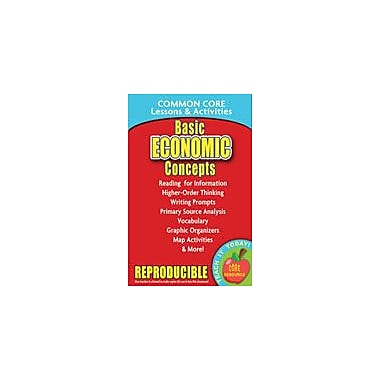 Gallopade International Basic Economic Concepts Common Core Lessons and Activities Workbook, Grade 3 - Grade 8 [eBook]