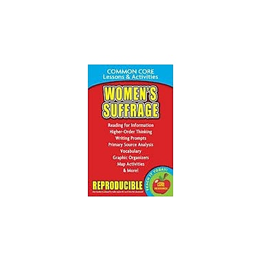 Gallopade International Women's Suffrage and the 19th Amendment Common Core Lessons and Activities Workbook [eBook]