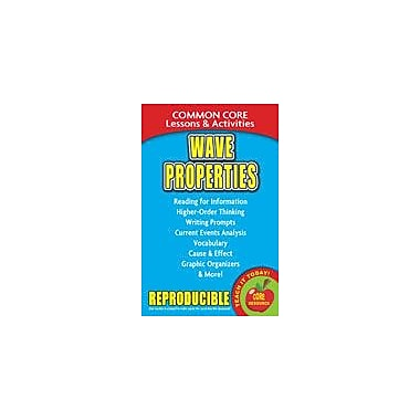 Gallopade International Wave Properties Common Core Lessons and Activities Science Workbook, Grade 3 - Grade 8 [eBook]