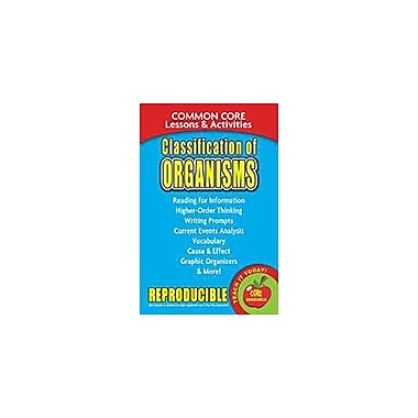 Gallopade International Classification of Organisms, Common Core Lessons & Activities Workbook, Grade 3 - Grade 8 [eBook]