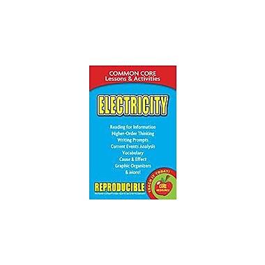 Gallopade International Electricity, Common Core Lessons & Activities Workbook, Grade 3 - Grade 8 [eBook]