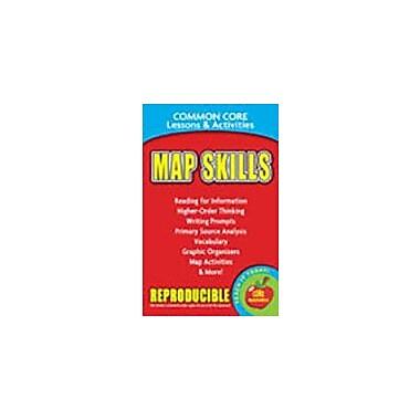Gallopade International Map Skills, Common Core Lessons & Activities Workbook, Grade 3 - Grade 8 [eBook]