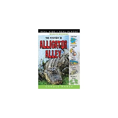 Gallopade International The Mystery In Alligator Alley Reading & Writing Workbook, Grade 3 - Grade 8 [eBook]