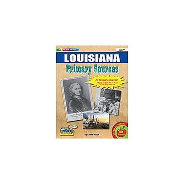 Gallopade International Louisiana Primary Sources Social Studies Workbook, Grade 2 - Grade 8 [eBook]