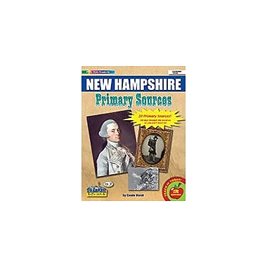 Gallopade International New Hampshire Primary Sources Social Studies Workbook, Grade 2 - Grade 8 [eBook]