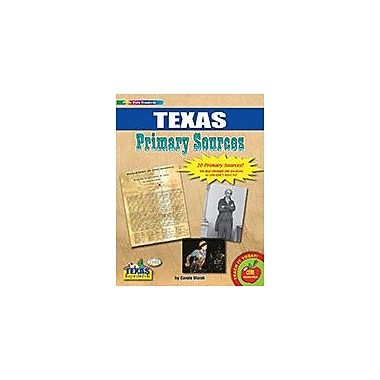 Gallopade International Texas Primary Sources Social Studies Workbook, Grade 2 - Grade 8 [eBook]