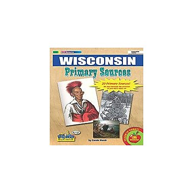 Gallopade International Wisconsin Primary Sources Social Studies Workbook, Grade 2 - Grade 8 [eBook]