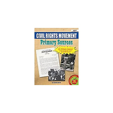 Gallopade International Civil Rights Movement Primary Sources Social Studies Workbook, Grade 2 - Grade 8 [eBook]