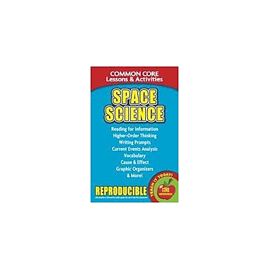 Gallopade International Space Science, Common Core Lessons & Activities Language Arts Workbook, Grade 3 - Grade 8 [eBook]