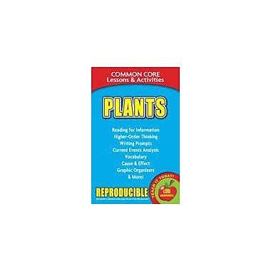 Gallopade International Plants, Common Core Lessons & Activities Social Studies Workbook, Grade 3 - Grade 8 [eBook]