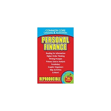 Gallopade International Personal Finance, Common Core Lessons & Activities Social Studies Workbook, Grade 3 - Grade 8 [eBook]