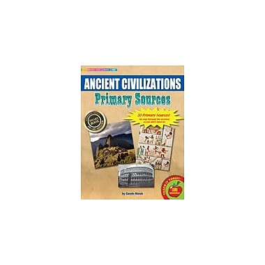 Gallopade International Ancient Civilizations Primary Sources Pack Social Studies Workbook, Grade 3 - Grade 8 [eBook]