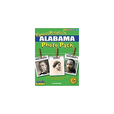 Gallopade International Famous People From Alabama Photo Pack Social Studies Workbook, Grade 1 - Grade 8 [eBook]